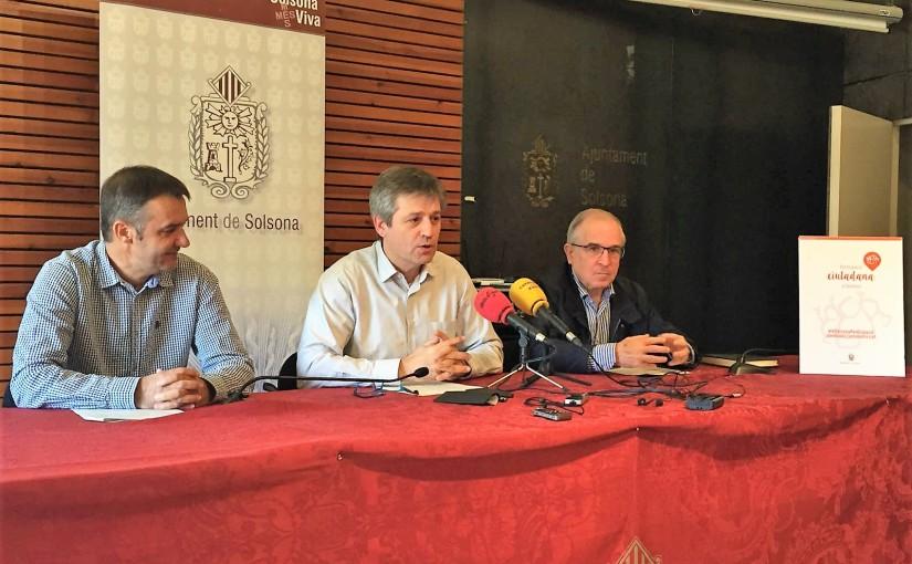 L'Ajuntament de Solsona posa en marxa l'elaboració del primer pressupostparticipatiu