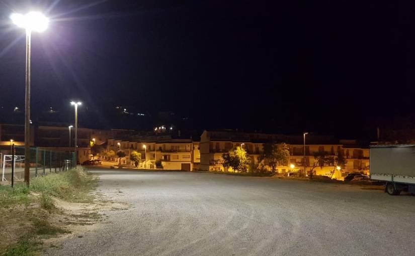 Solsona millora l'enllumenat del Camp del Serra, una de les prioritats del pressupostparticipatiu