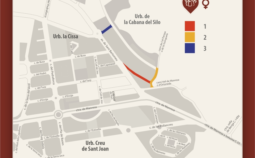 L'Ajuntament de Solsona consultarà la població per posar noms de dona als carrers de la Cabana delSilo